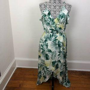Soprano Leaf Pattern Dress